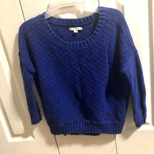 American Eagle Outfitters Blue sweater 100%Cotton